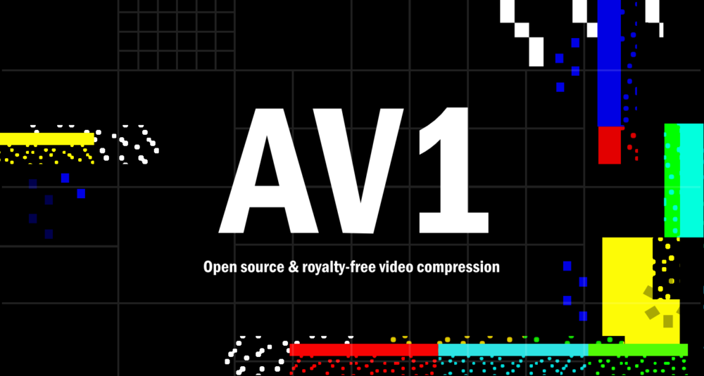 AV1 is a royalty-free video compression format for the web